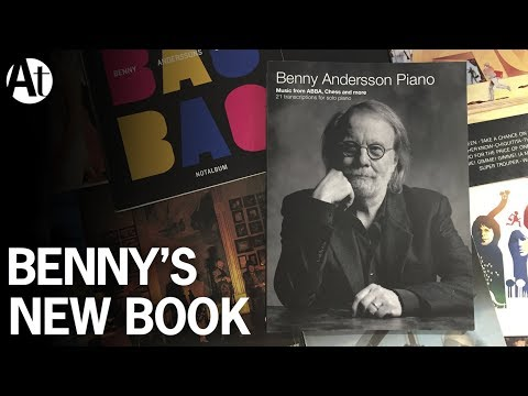 ABBA Benny Andersson Piano new album sheet...