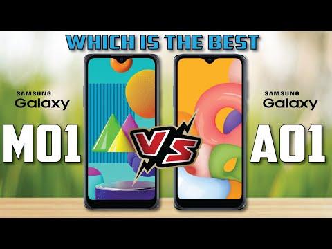 Samsung Galaxy M01 vs Samsung Galaxy A01    Full Comparison