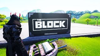 NEW Fortnite THE BLOCK MAP.. (RIP RISKY REELS)