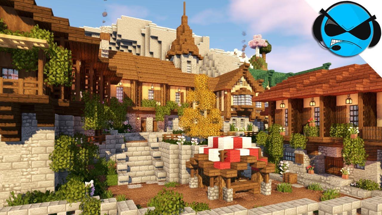 Minecraft Timelapse | Medieval Town/Village