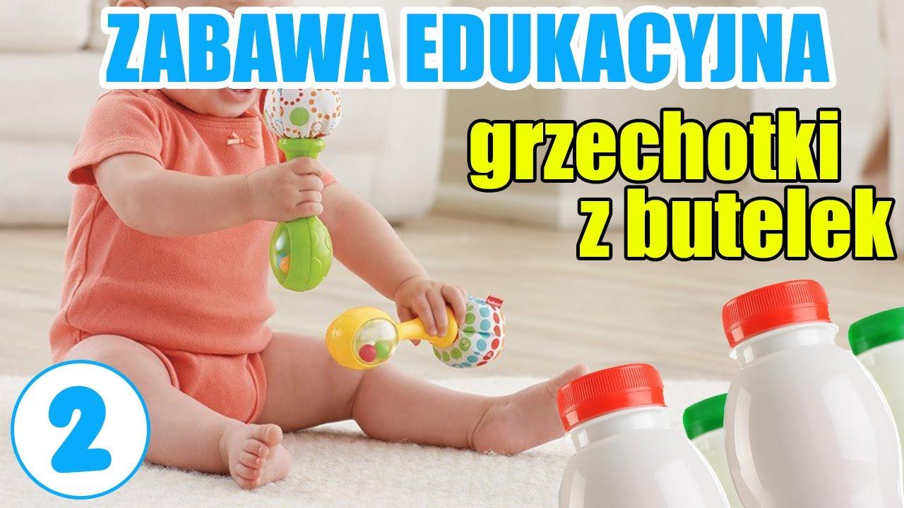 Jak dbac o rozwój dziecka - butelkowe grzechotki
