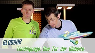 Landingpage: Das Tor der Website  | Fairrank TV - Glossar