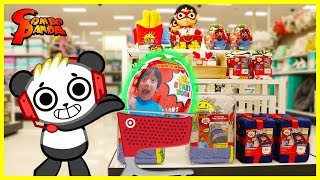 Hide and Seek Shopping at Target for Ryan's World Green Mystery Egg + Bedding!