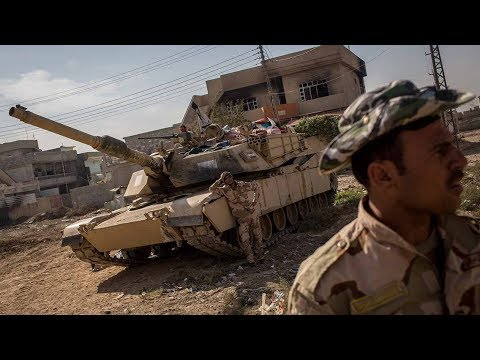 Iraqi troops fight ISIL, in final push for Mosul