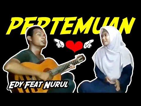 Rhoma Irama_Pertemuan (Cover) Edi Bima Feat Nurul - Gitaris Bima Tunanetra | Akustik