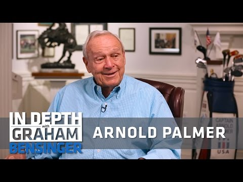 Arnold Palmer on earning the 1st compliment from his dad