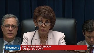'Why Should We Trust Facebook?' Rep. Waters Asks Marcus