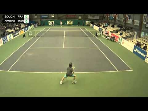 BOUCHELAGHEM (FRA) vs GOROKHOV (RUS) - Open Super 12 Auray Tennis