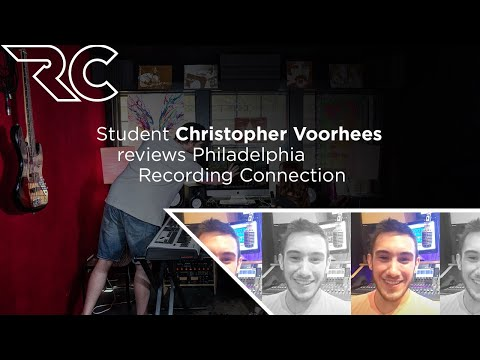 Student Christopher Voorhees Reviews Philadelphia Recording Connection