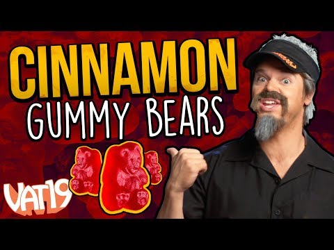 The Best Cinnamon Gummy Bears Ever 5 Pounds!