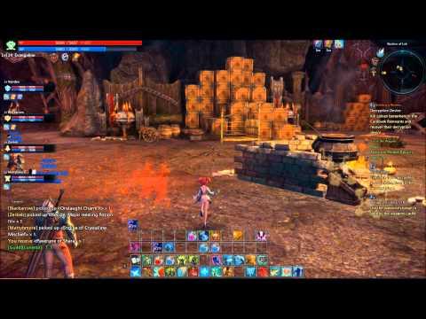 Tera Bastion of Lok Dungeon- Mystic healing!