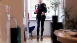 Repeat youtube video My feminized Boyfriend ready for to go downtown in Highheels