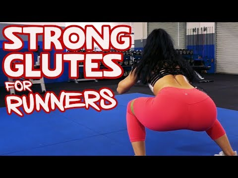 Strong Glutes for Runners 8 Exercises for a Stronger Butt!