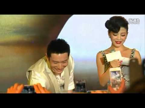 """Huang Xiaoming interview at """"Global Sleeping Culture Journey""""  event Chengdu on 5th Aug 2013"""