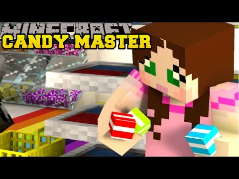 Minecraft: CANDY MASTER!! (COLLECT ALL THE CANDY!!) - HALLOWEEN HUNT - Mini-Game