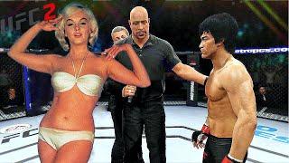 UFC2 | Bruce Lee vs. Marilyn Monroe (EA sports UFC 2)