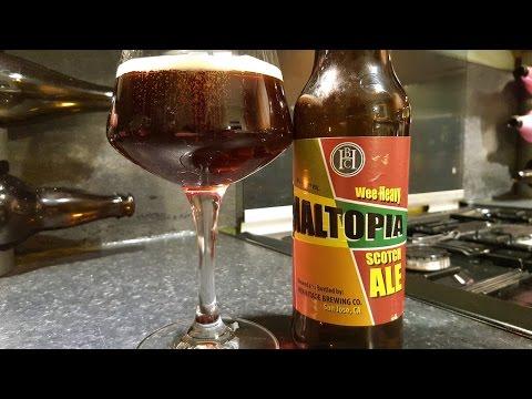 Hermitage Maltopia Wee Heavy Scotch Ale By Hermitage Brewing Company | American Craft Beer Review