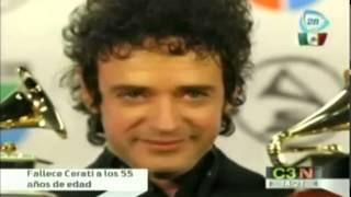 Biografía de Gustavo Cerati / Muere Cerati /Gustavo Cerati dies at age 55