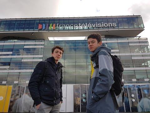 D'où vient l'information? Reportage des élèves du Lycée Rive Gauche avec France Télévisions