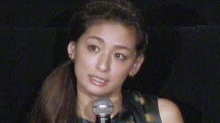 尾野真千子、村上正典監督/ドラマ『フジコ』完成披露舞台挨拶が2015年1...
