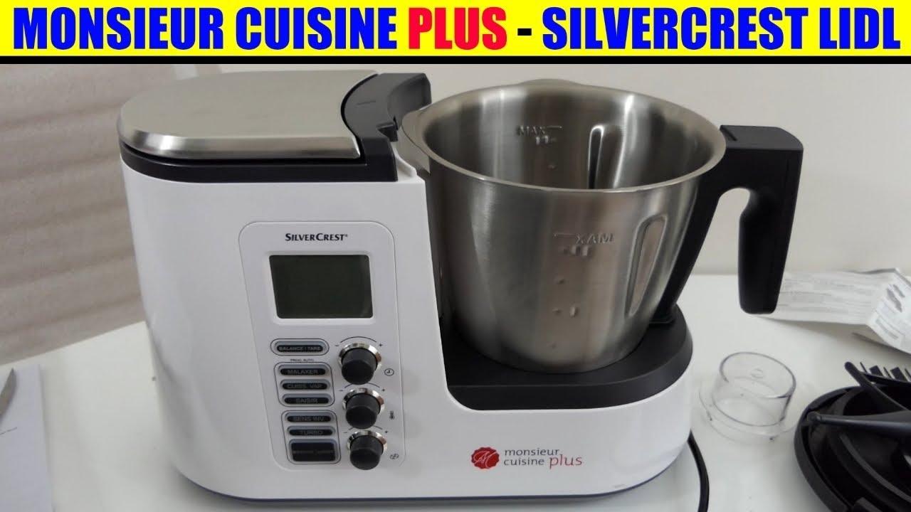 Monsieur cuisine plus lidl silvercrest robot da cucina for Robot menager monsieur cuisine plus
