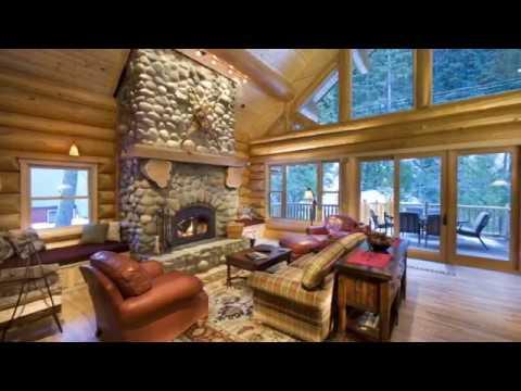 Log Cabin Interiors Decorating Ideas