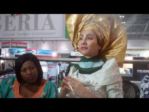 Director General NTDC speaks on Tourism in Nigeria at 2013 WTM. PT 1