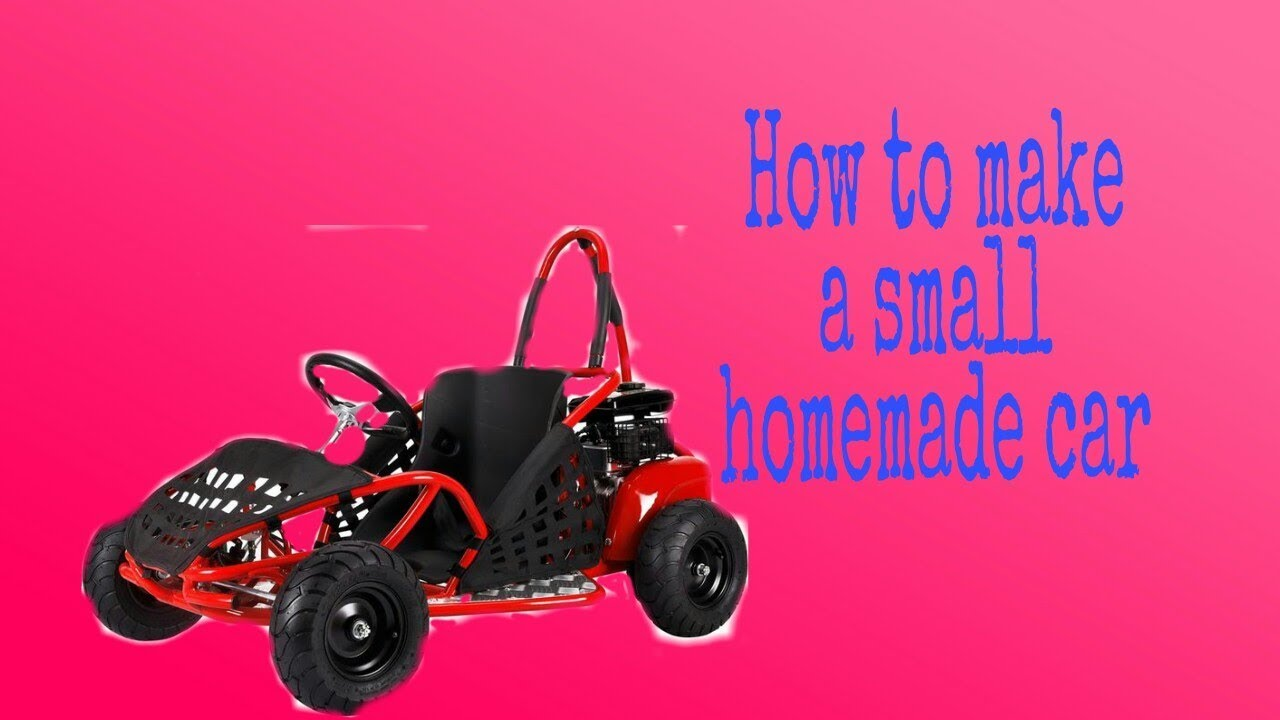 How to make a small home made car -By Trick & Tips