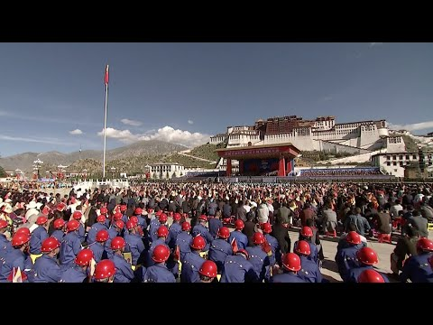 Commemoration Marking 50th Anniversary of Founding of Tibet Autonomous Region Commences in Lhasa