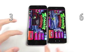 Xiaomi Mi 6 vs Galaxy S8 Plus - SpeedTest