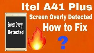 How To Flash Itel A41Plus