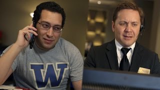 SEC Shorts - Washington fan already booking hotel in Tampa