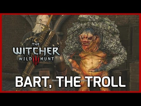 Witcher 3: Bart, the Troll - A Highly Intellectual Conversation