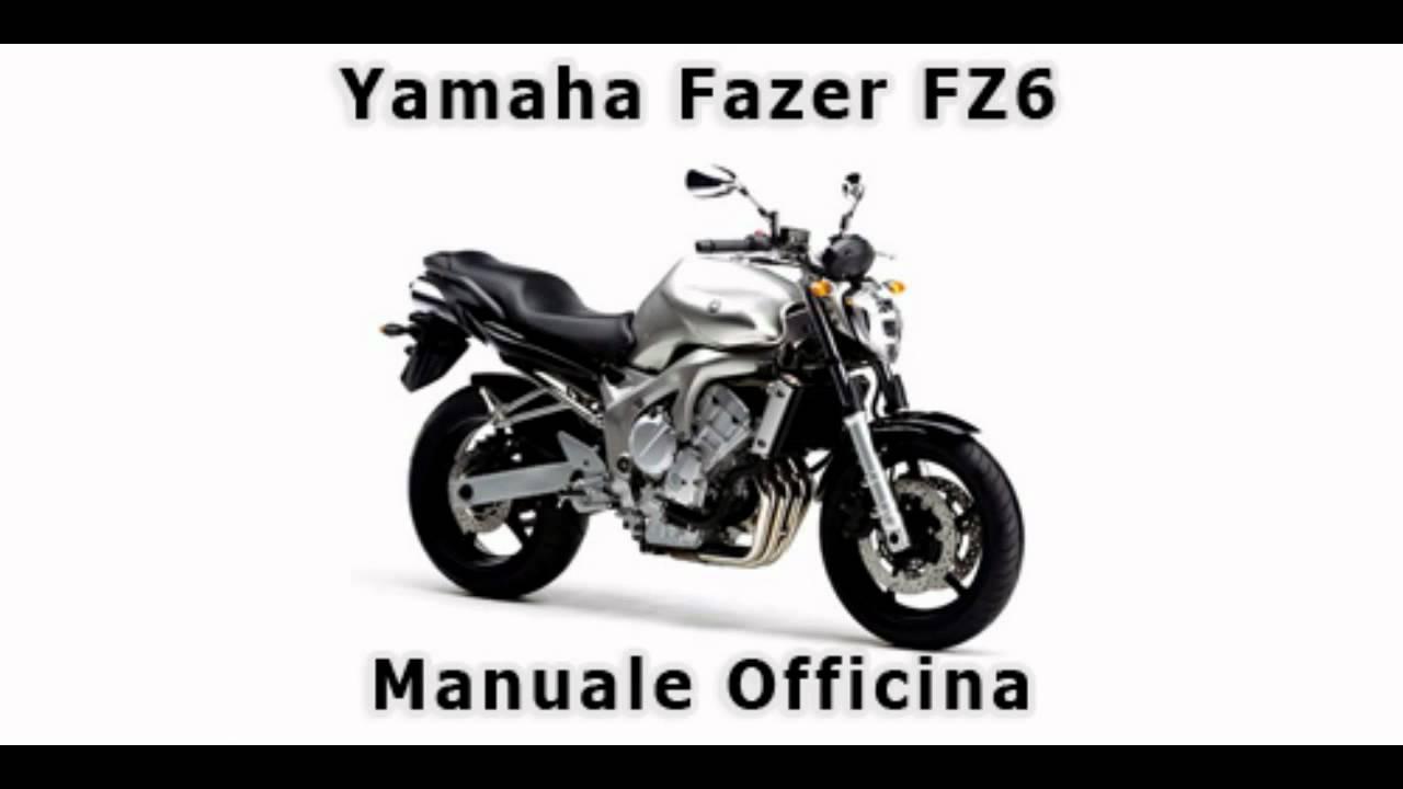 yamaha fz6 - manuale officina in italiano