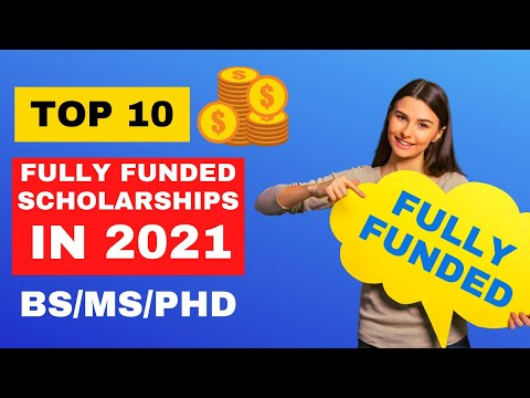 Top 10 Scholarships for International Students 2021   Fully Funded   Scholarships Corner