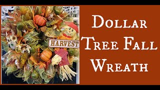 Dollar Tree Fall Wreath