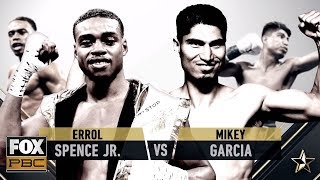 Errol Spence Jr. vs Mikey Garcia Prelim | 'Corners-only' | PBC ON FOX