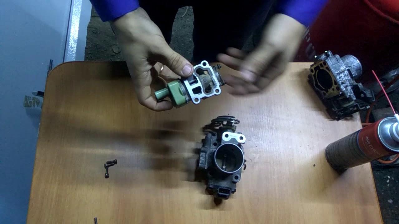 Как обучить электронную дроссельную заслонку на тойота