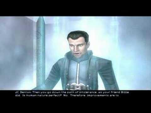 Deus Ex: Invisible War JC Denton's Plan