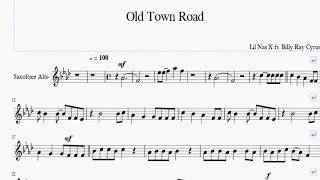 lil-nas-x---old-town-road-ft-billy-ray-cyrus-alto-saxophone-sheet-music