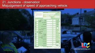 UK Driving Test 6/6 - Feedback / Faults - LDC driving schools