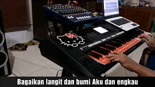 Download Video Bagai Langit dan Bumi Cover PSR S750 Karaoke MP3 3GP MP4