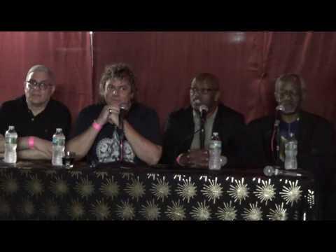 Leroy Burgess, Ray Caviano, Patrick Adams, Steve Thompson Legends of Vinyl Seminar Panel 9-13-16