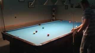 8-0 Ghost Challenge 9-Ball Brunswick 10