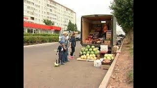 Хороший товар на улице не валяется  В автограде начали борьбу с незаконными торговыми точками