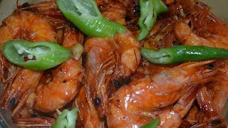 Garlic Shrimps Cooked With 7 Up And Butter Filipino Recipe Lutong Pinoy
