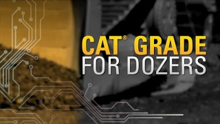 Repeat youtube video Work Smarter with Cat® GRADE for Dozers Technology