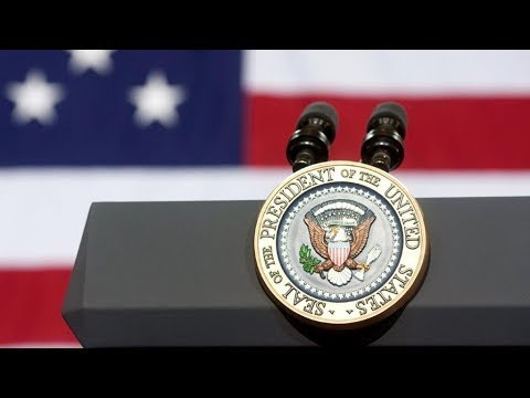 President Trump Participates i fbi national academy
