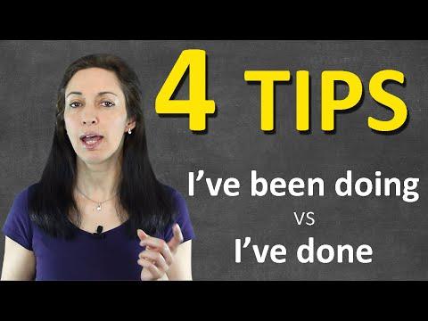 4 BIGGEST tips on Present Perfect Continuous – English Grammar Fix