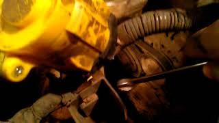 Замена и натяжка ремня генератора на ниссан вингроад GA15 DE